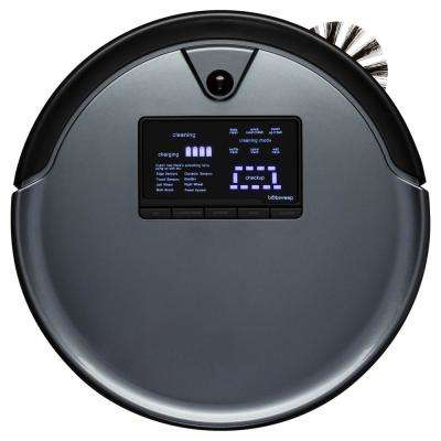 PetHair Plus Robotic Vacuum Cleaner and Mop, Charcoal