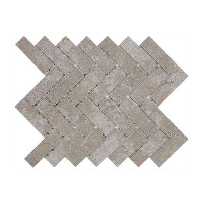 Quartzite 9 in. x 12 in. x 6.35mm Glazed Ceramic Mosaic Floor and Wall Tile (0.6 sq. ft. / piece)