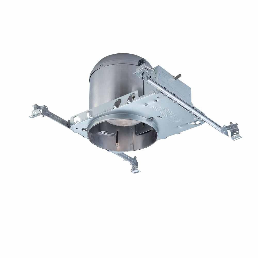 Commercial Electric 6 in. Aluminum Recessed IC New Construction Airtight Housing