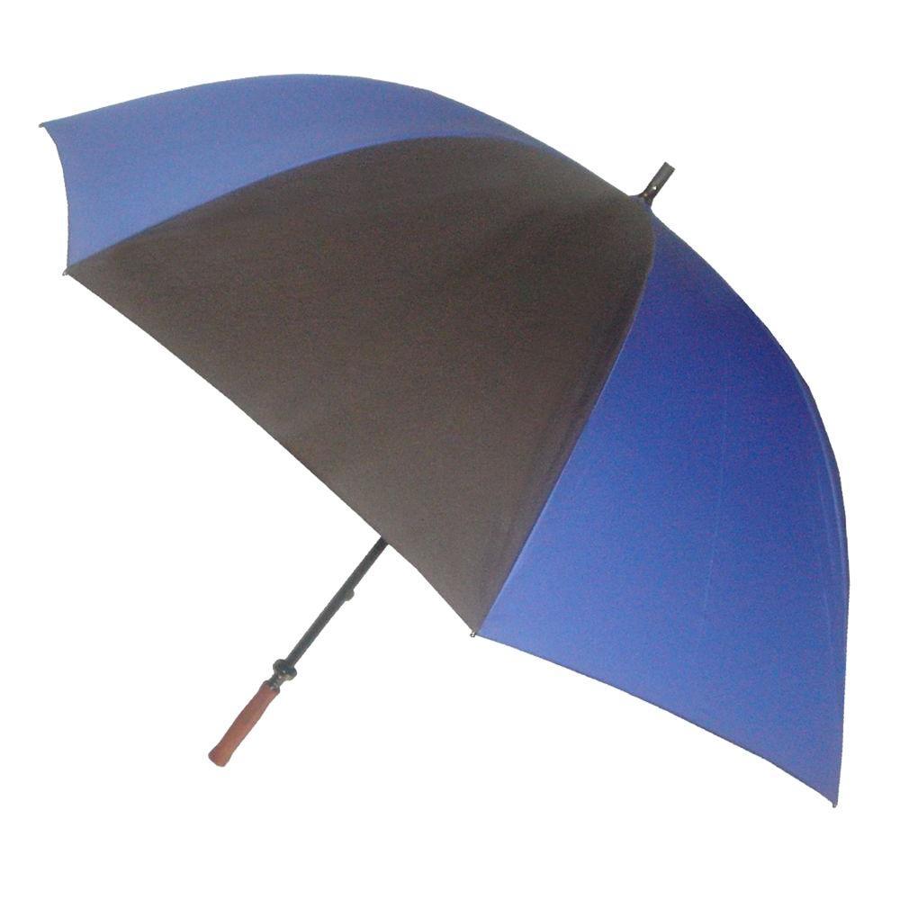 62 in. Arc Canopy Sport Umbrella in Blue/Black