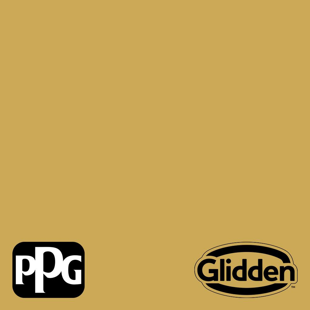 Ppg Timeless 1 Gal Ppg1107 6 Glorious Gold Satin Exterior One