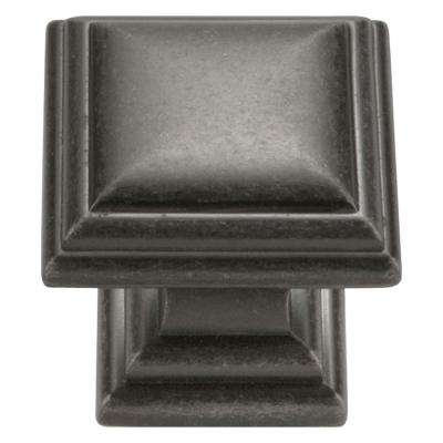 Somerset Collection 1-1/16 in. Dia Black Nickel Vibed Finish Cabinet Knob