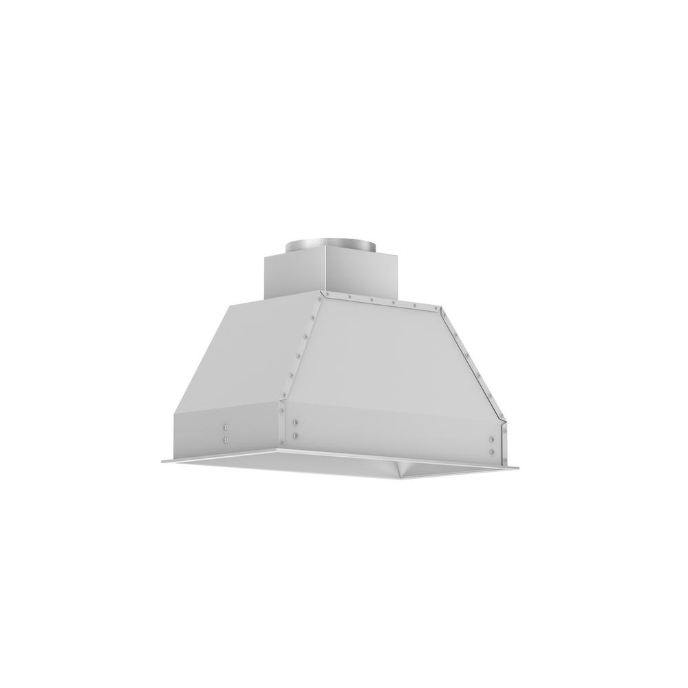 Insert Range Hoods The Home Depot Automatic Hood 28 In 900 Cfm Convertible
