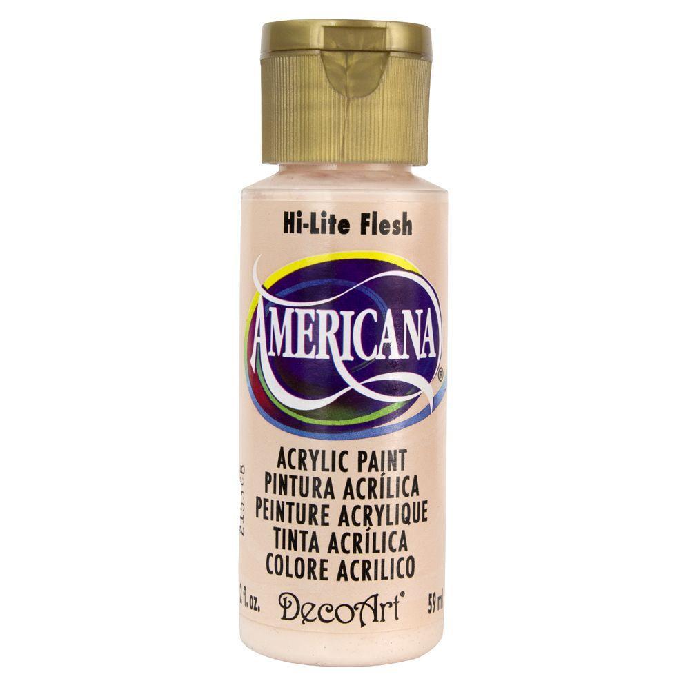 Americana 2 oz. Hi-Lite Flesh Acrylic Paint