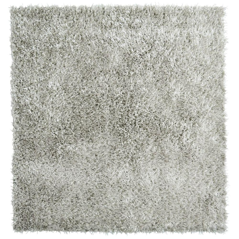 Home Decorators Collection City Sheen Silver 12 ft. x 12 ft. Square Area Rug