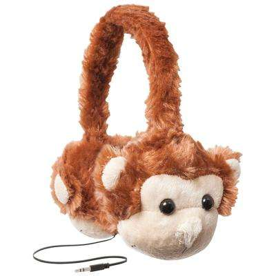 Animalz Headphones Monkey