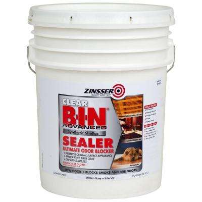 5-gal. B-I-N Clear Advanced Synthetic Shellac Sealer