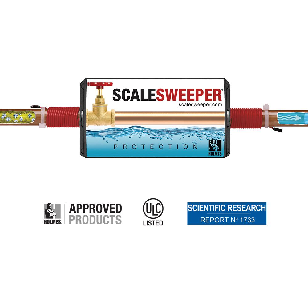 SCALESWEEPER 0-25 GPG Electronic Anti Scale Water Conditioner