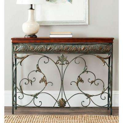 Cynthia Brown Console Table