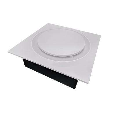 Quiet Adjustable 50-80-110 CFM Energy Star Bathroom Ventilation Fan 0.4 Sones Fits 2 in. x 4 in. Joists White