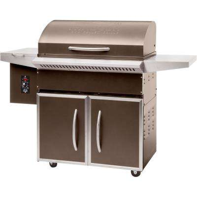 Select Elite Wood Fired Pellet Grill and Smoker in Bronze