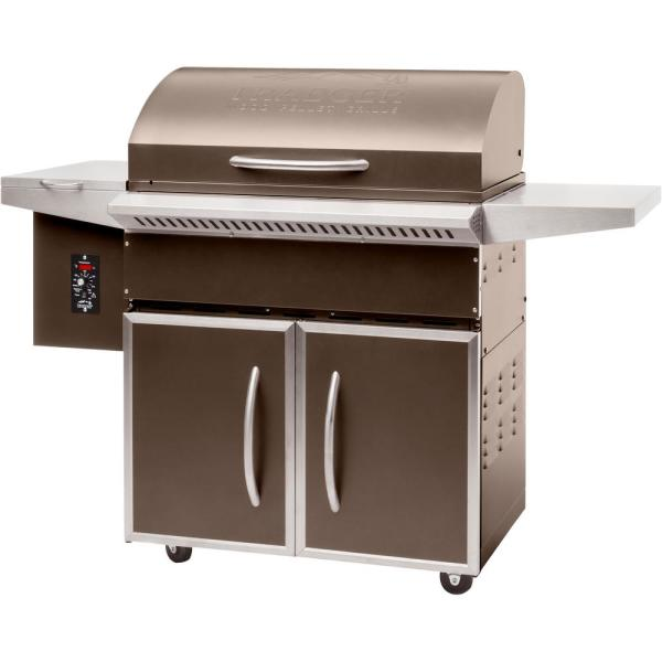 Traeger Select Elite Wood Pellet Grill and Smoker in Bronze