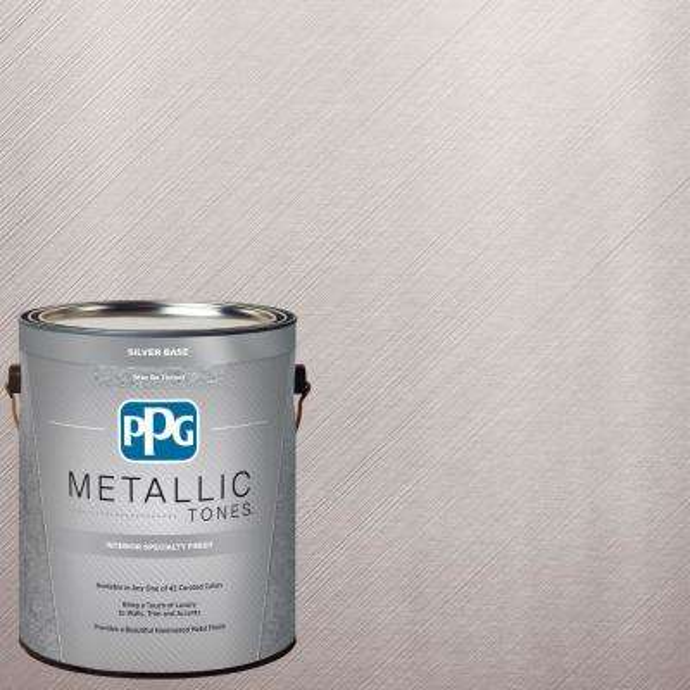 1  gal. #MTL130 Astute Metallic Interior Specialty Finish Paint