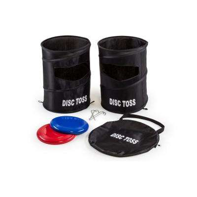 15 in. Dia Flying Disc Toss Dunk Game Set