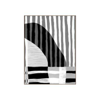 "49.25 in. x 37.25 in. ""Visions III"" by Bobby Berk Printed Framed Wall Art"