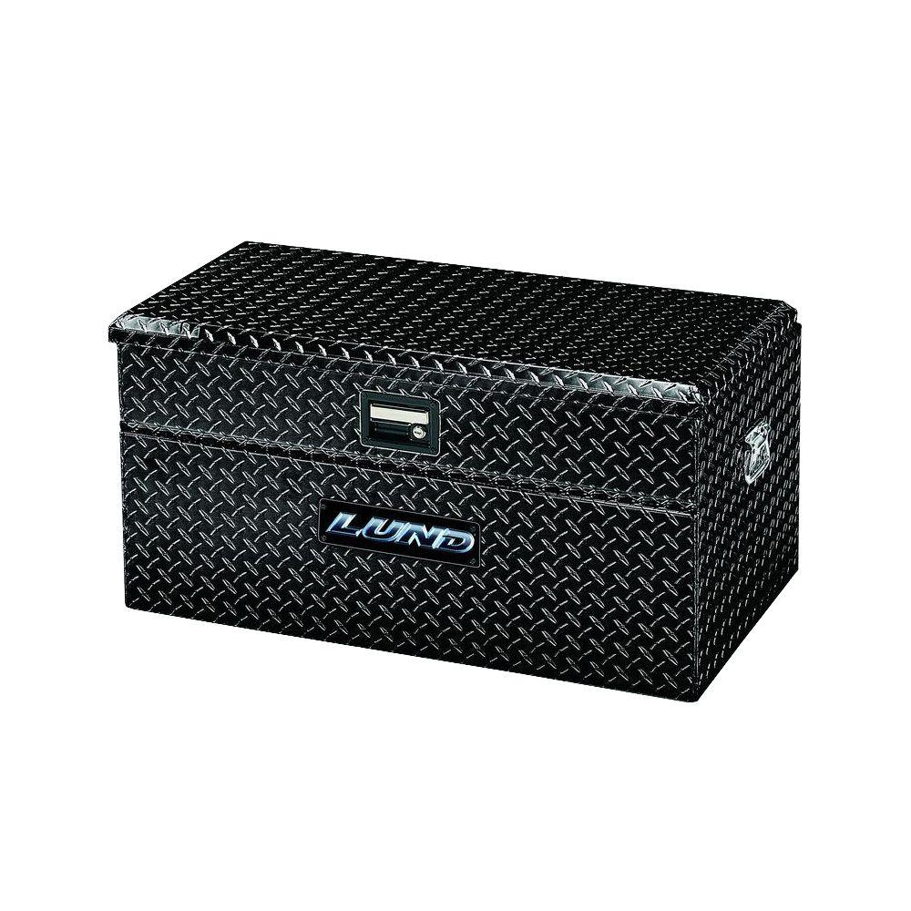 Small Truck Tool Box >> Lund 36 In Flush Mount Truck Tool Box Black 79436wb The Home Depot