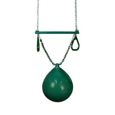 Green Buoy Ball with Trapeze Bar