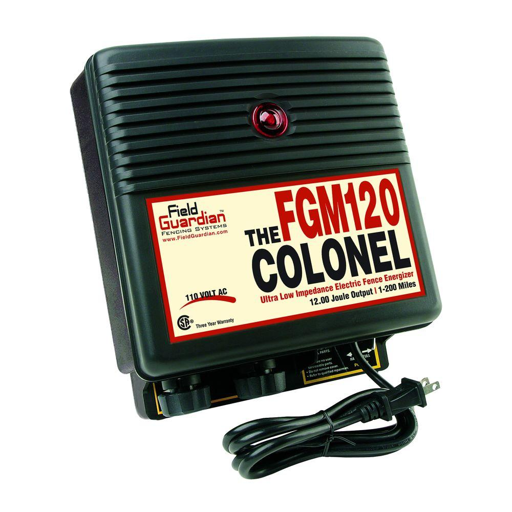 Field Guardian The Colonel - 12 Joule Energizer-DISCONTINUED