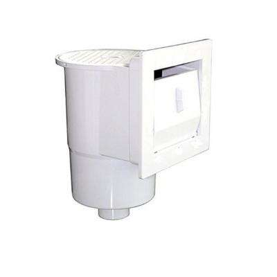 12.5 in. White Above Ground Swimming Pool Thru-Wall Skimmer