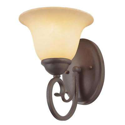 Laredo 1-Light Antique Bronze Sconce