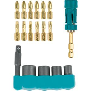 Makita Impact GOLD Driver Bit and Socket Set (18-Piece)