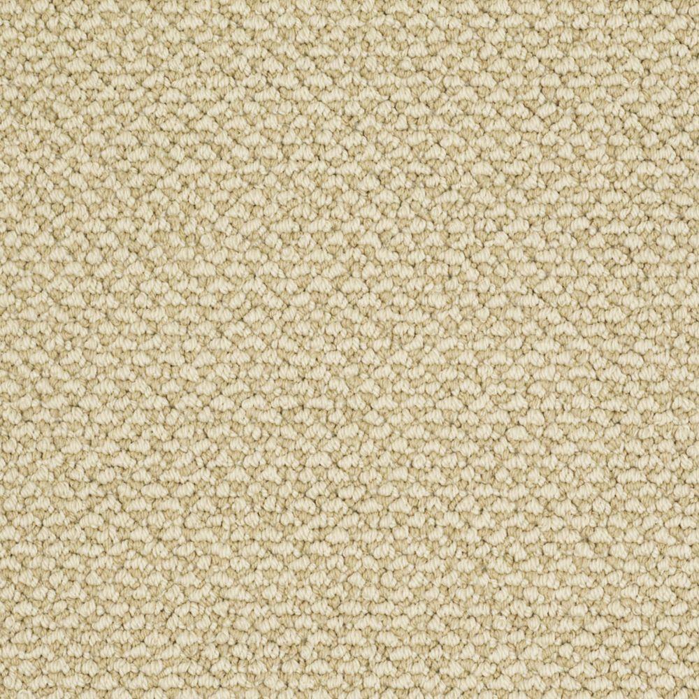 Martha Stewart Living Whitford Bay - Color Tobacco Leaf 6 in. x 9 in. Take Home Carpet Sample