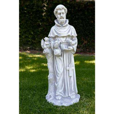 31 in. St. Francis Statue