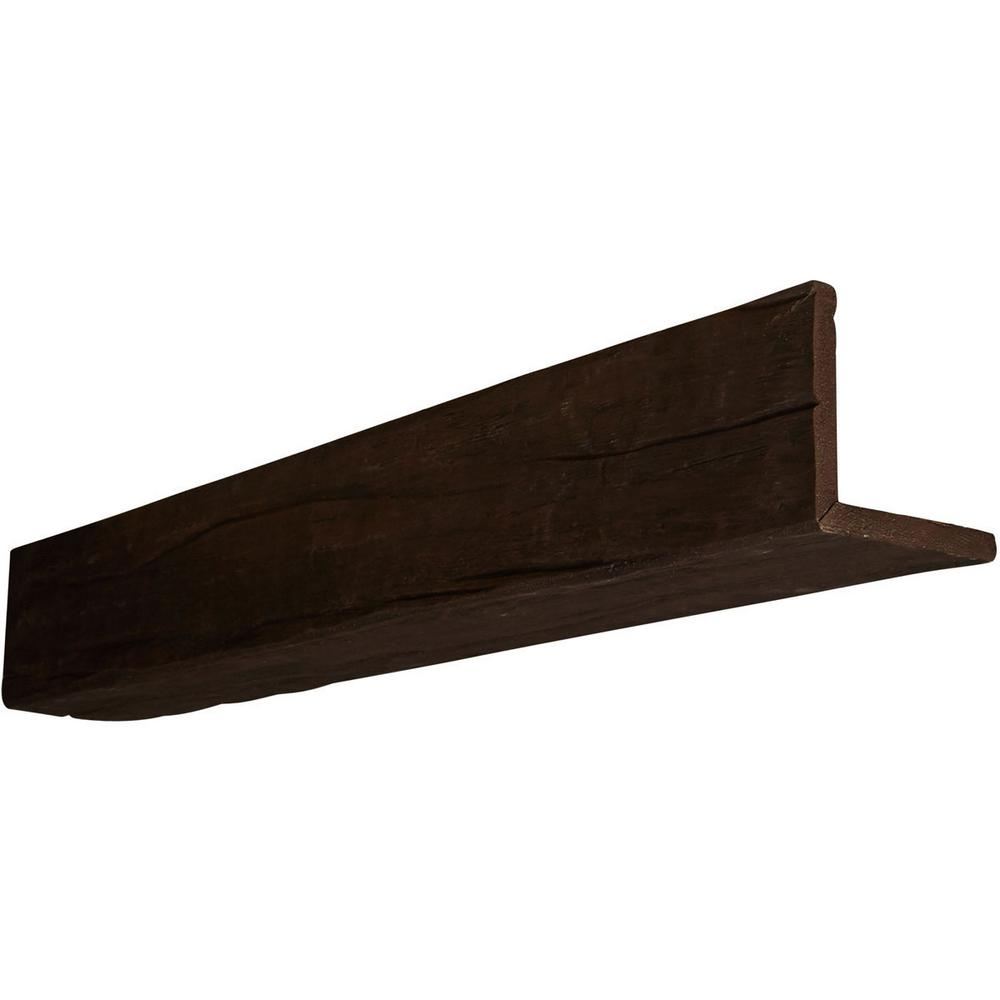 6 in. x 8 in. x 16 ft. 2-Sided (L-Beam) Riverwood