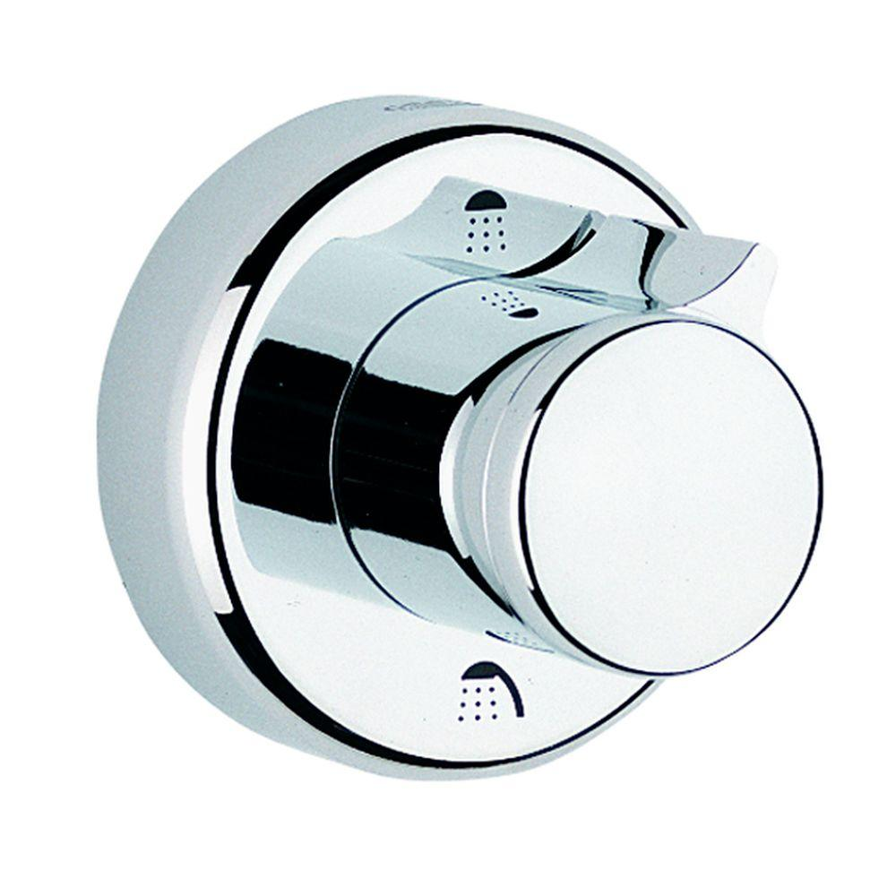 GROHE Relexa Single Handle 3-Port Diverter Valve Trim Kit in StarLight Chrome (Valve Sold Separately)