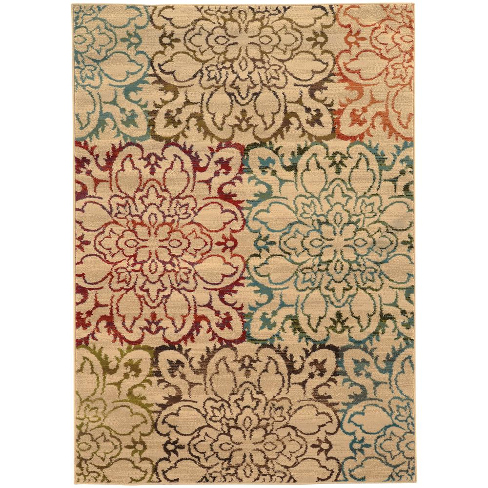 Home Decorators Collection Everdeen Tan 10 ft. x 13 ft. Area Rug