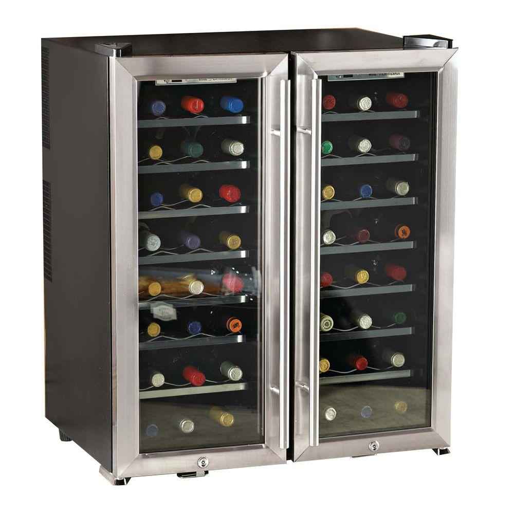 Wine Enthusiast 48-Bottle Dual Zone Wine Cooler