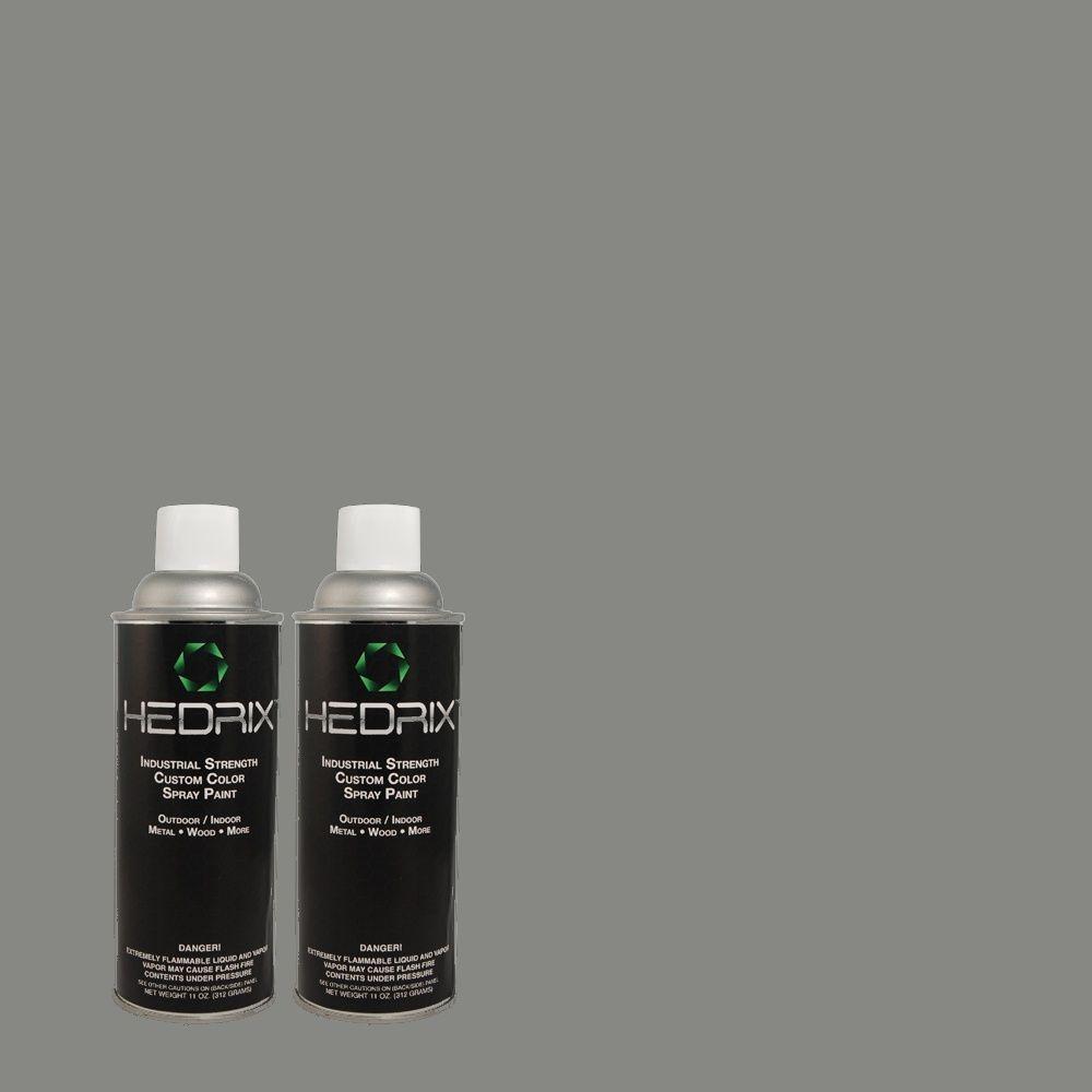 Hedrix 11 oz. Match of PPU13-4 Atlantic Shoreline Gloss Custom Spray Paint (2-Pack)