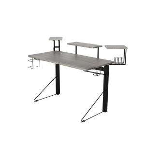 check out 28afa 1e6c3 Jamesdar Carnegie Black/Gray Computer Gaming Desk JCDES777 ...