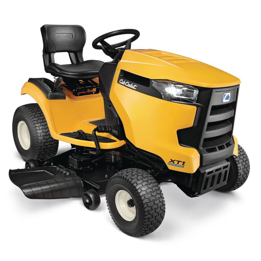 XT1 Enduro LT 46 in. 22 HP V-Twin Kohler 7000 Series Engine Hydrostatic Drive Gas Riding Lawn Mower (CA Compliant)