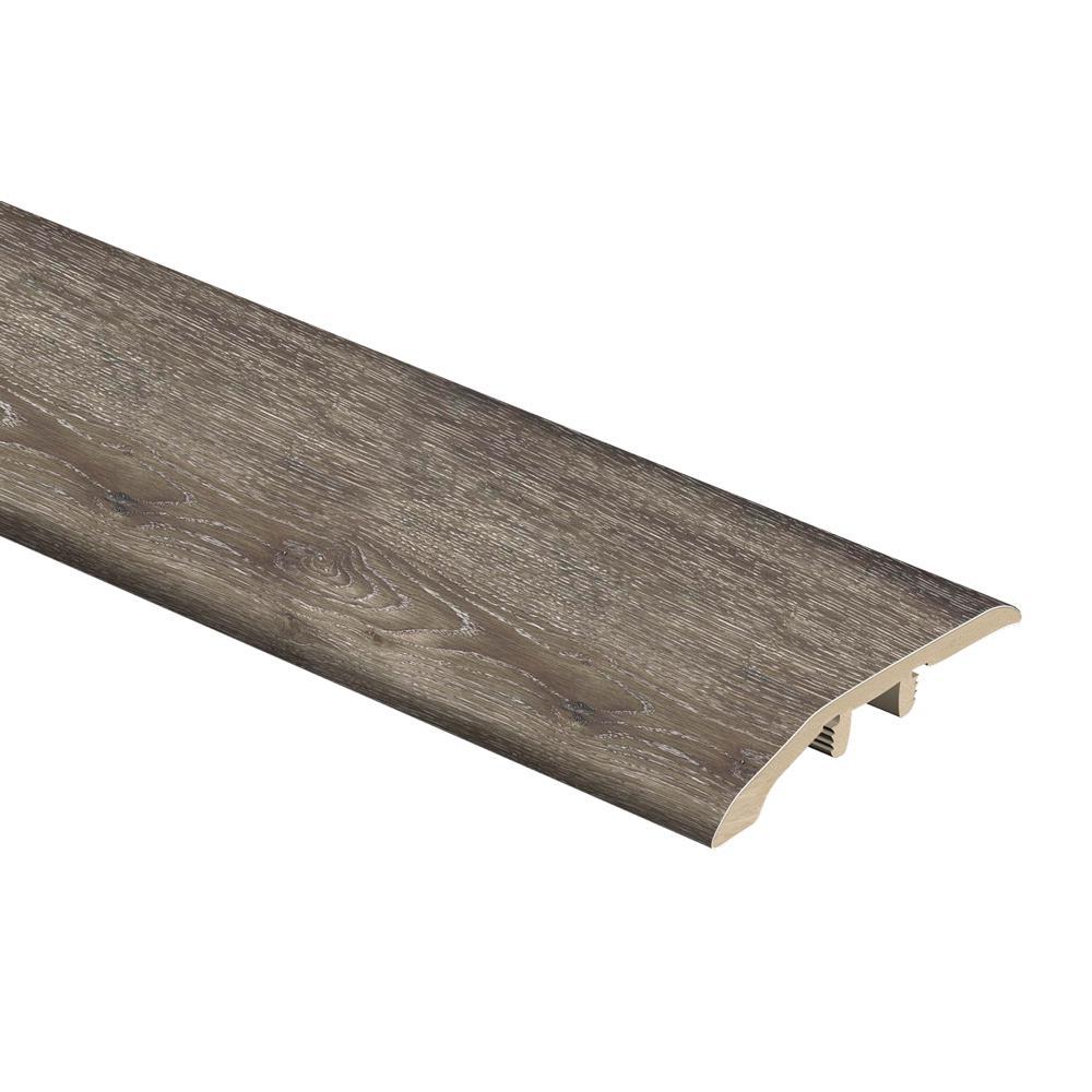 Dark Grey Oak 1/3 in. Thick x 1-13/16 in. Wide x 72 in. Length Vinyl Multi-Purpose Reducer Molding