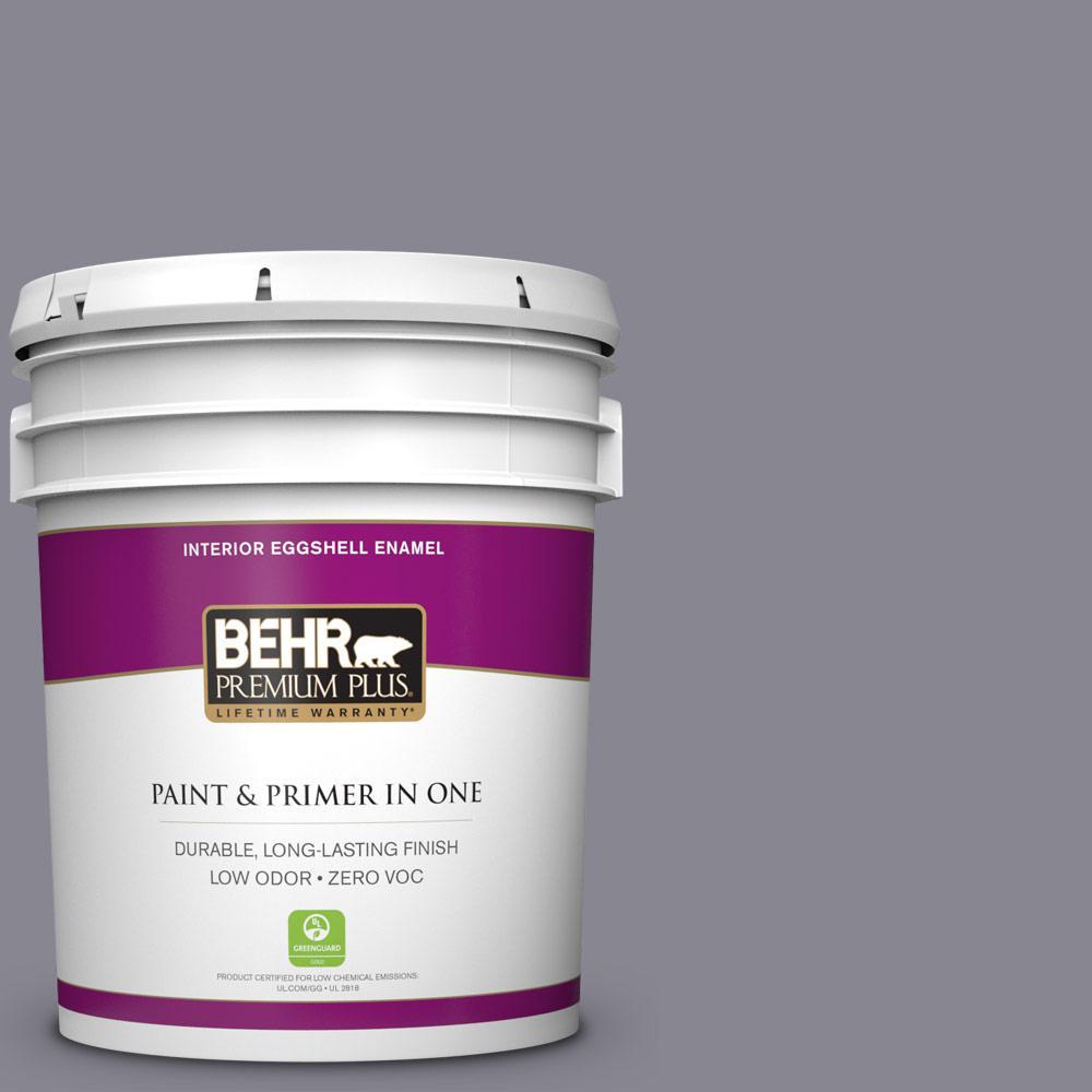 BEHR Premium Plus 5-gal. #N550-5 Box Office Eggshell Enamel Interior Paint