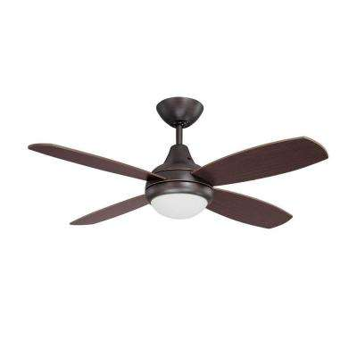 Cassiopeia 42 in. Copper Bronze Indoor Ceiling Fan