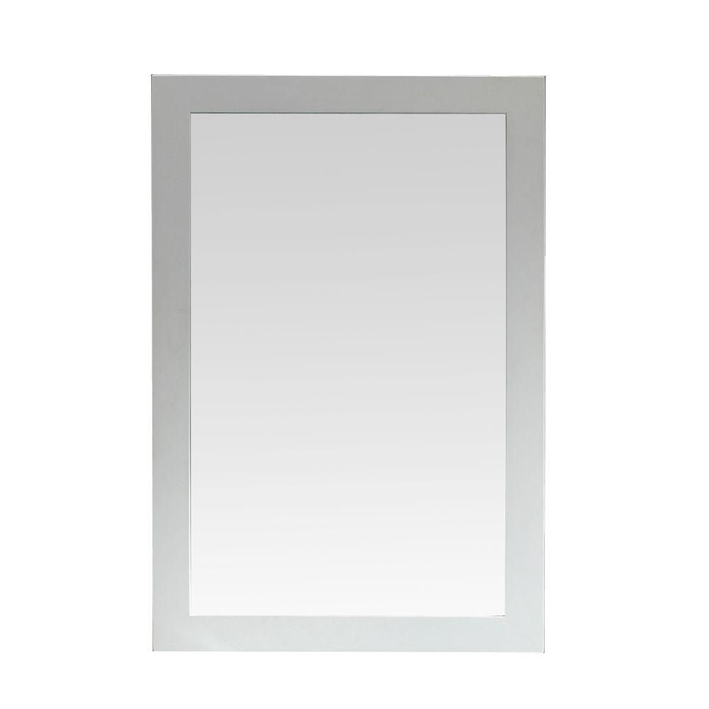 Santa Monica 36 in. x 24 in. Framed Wall Mirror in