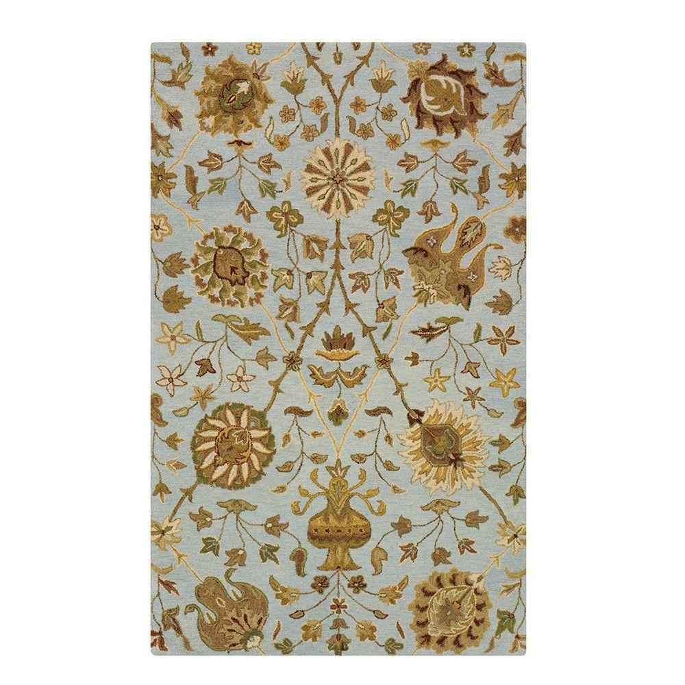 Home Decorators Collection Duchess Pewter 5 ft. x 8 ft. Area Rug