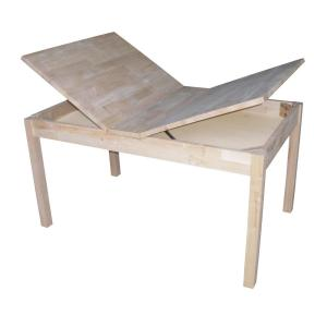 International Concepts Unfinished Storage Kidu0027s Table JT 2532L   The Home  Depot