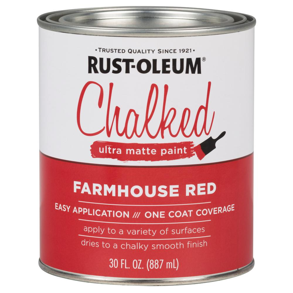 Chalked Farmhouse Red Ultra Matte Interior Paint