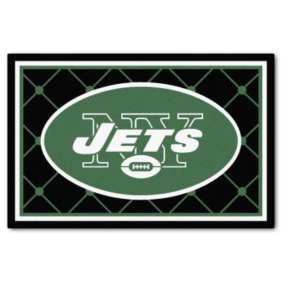 New York Jets 5 ft. x 8 ft. Area Rug