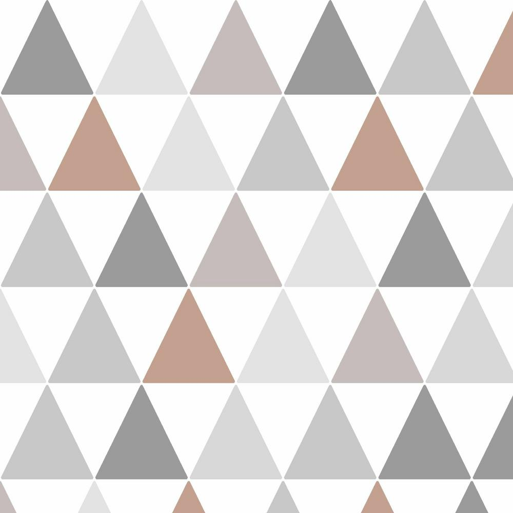 Graham Brown Symmetry Tarek Copper Removable Wallpaper
