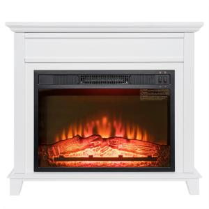 AKDY 32 in Freestanding Electric Fireplace Insert Heater