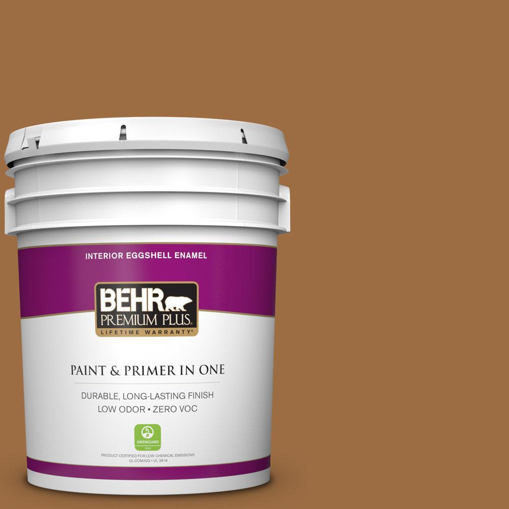 5 gal. #S250-6 Desert Clay Zero VOC Eggshell Enamel Interior Paint