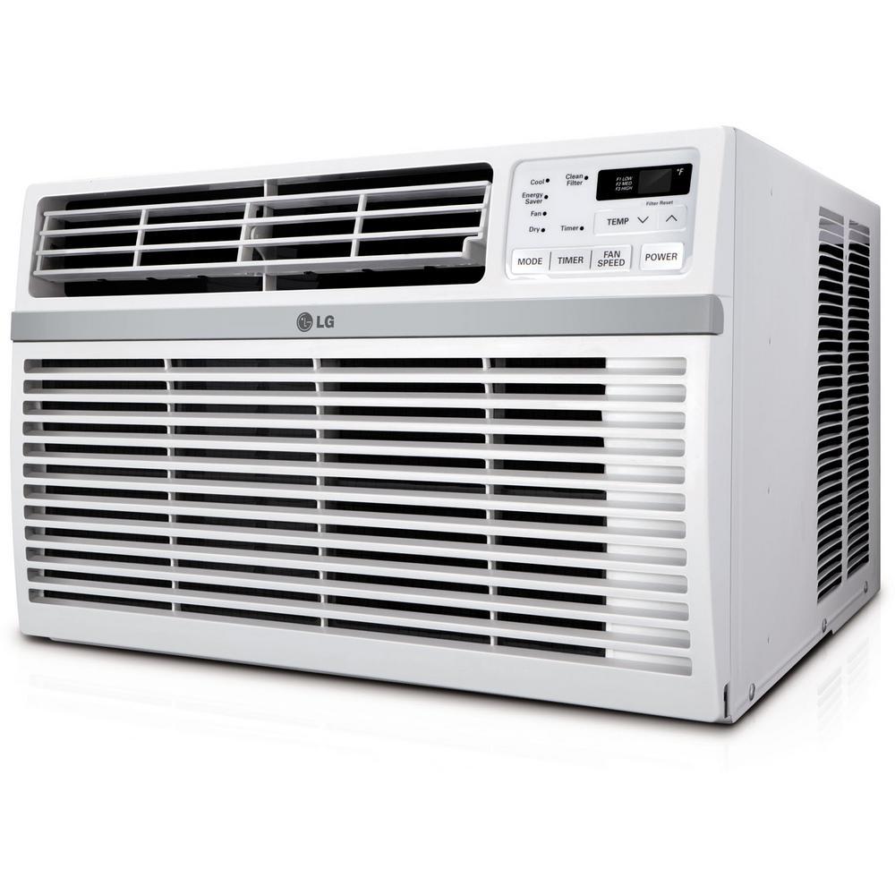 24,500 BTU 230-Volt Window Air Conditioner with Remote in White