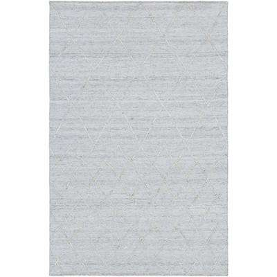 Absolon Gray 5 ft. x 8 ft. Area Rug