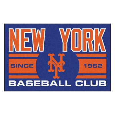 MLB New York Mets Blue 2 ft. x 3 ft. Area Rug
