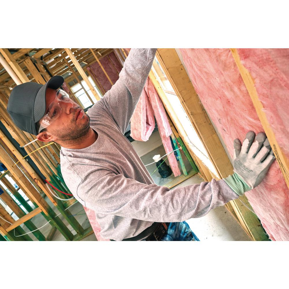 Owens Corning R 13 Ecotouch Pink Unfaced Fiberglass Insulation Batt 15 In X 93 In 10 Bags Bu10 The Home Depot