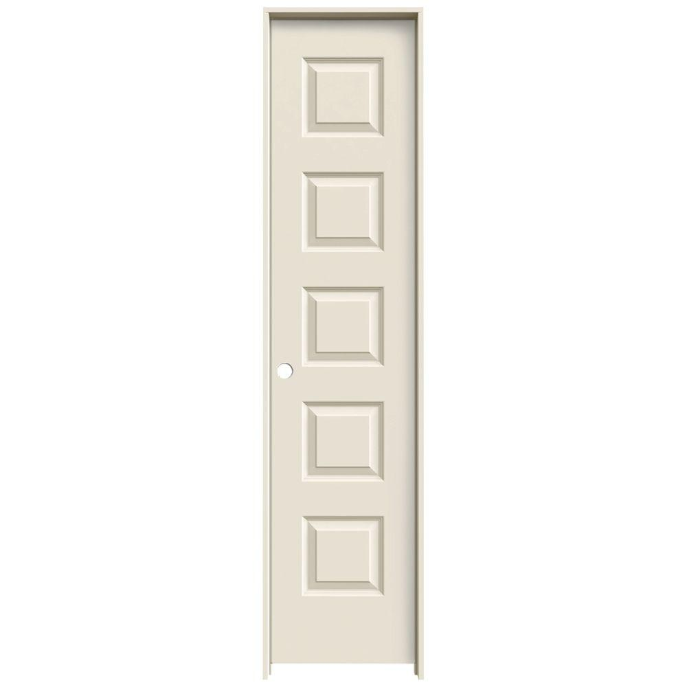 Charmant JELD WEN 18 In. X 80 In. Rockport Primed Right Hand Smooth